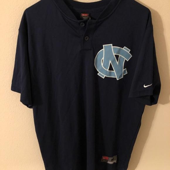 the best attitude 3c1e3 81b98 Vintage Nike UNC Michael Jordan Baseball Jersey